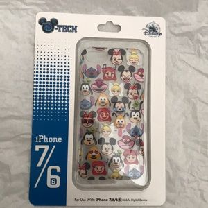 Disney DTech emoji IPhone 6/7 phone case